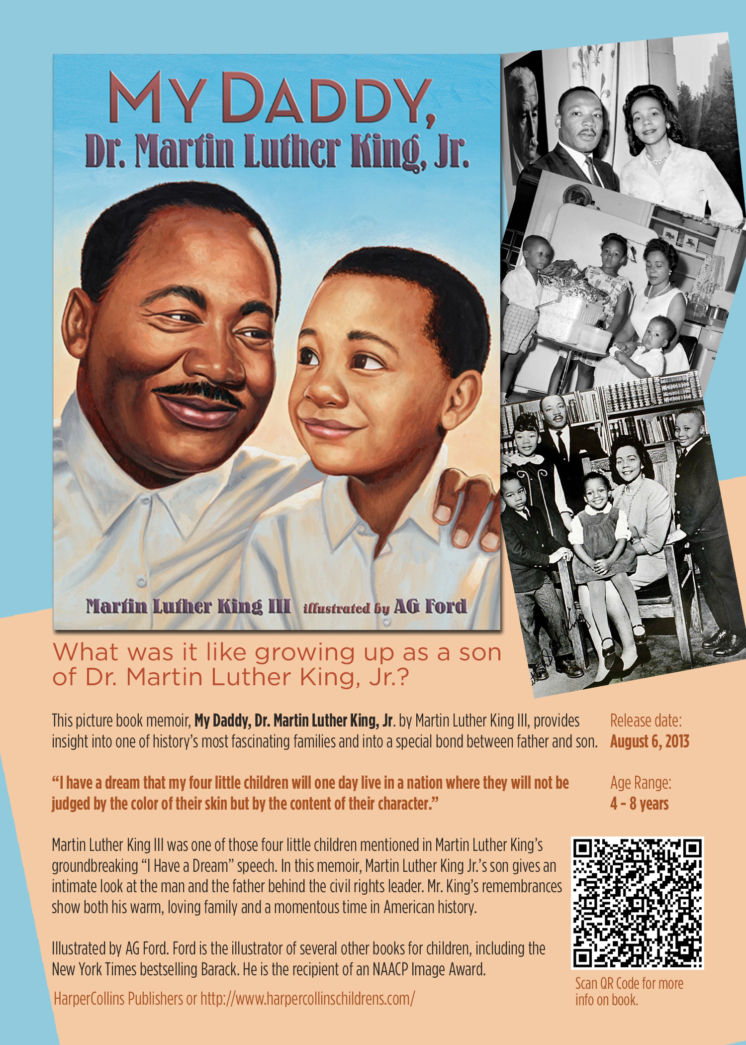 Martin Luther King Iii Writes A Kids Book