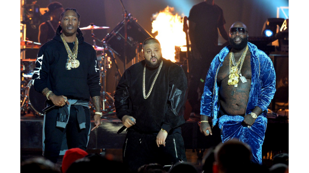 Future, DJ Khaled and Rick Ross at 2013 BET Hip Hop Awards