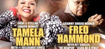 Tamela Mann & Fred Hammond Are Coming To Memphis