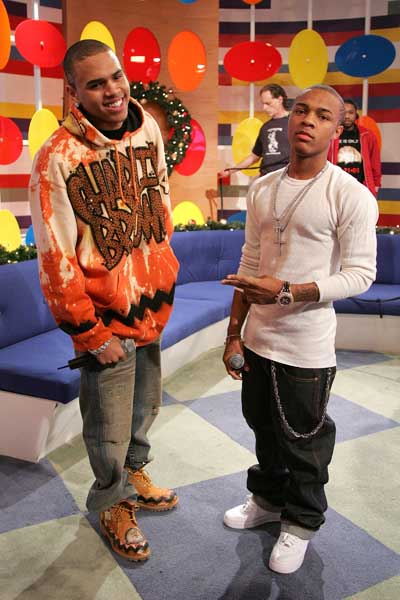 BET's 106th & Park Presents Bow Wow & Chris Brown