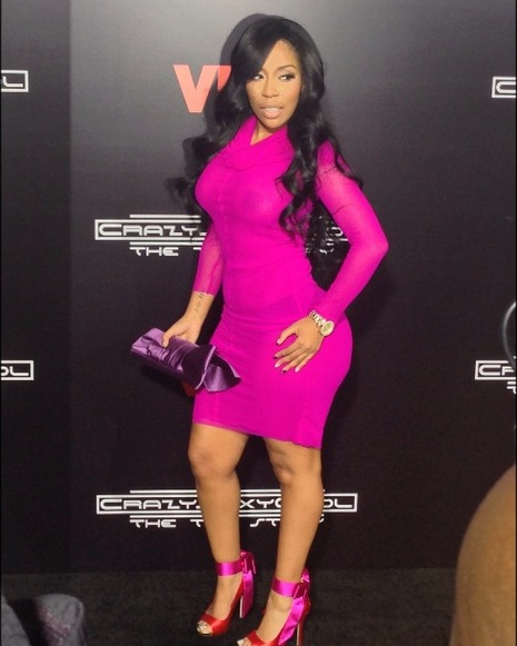 [Pics] K. Michelle Hosts Red Carpet At CrazySexyCool: The ... K Michelle 2013 Photoshoot