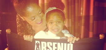 [Video] The Game's Daughter Cali Stops By The Arsenio Hall Show