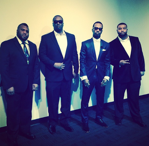 Video & Pics] Juicy J & Project Pat Spotted At The Grammys