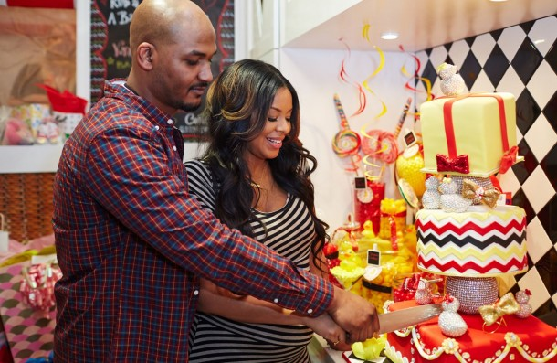 at vanessa simmons and mike wayans baby shower xclusive memphis
