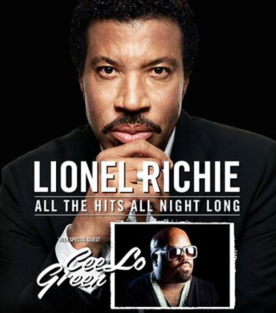 Lionel Richie & Cee-Lo Green Are Coming To Memphis