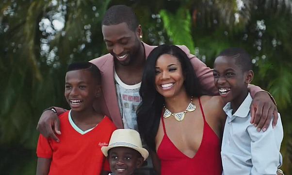 Video gabrielle union says her dwyane wade will have no wade union holiday photo junglespirit Gallery