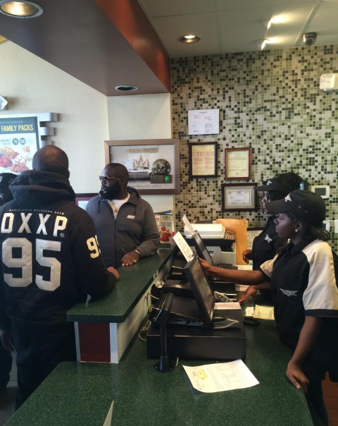 [Audio] Rick Ross Announces (2) New Wing Stop Locations In
