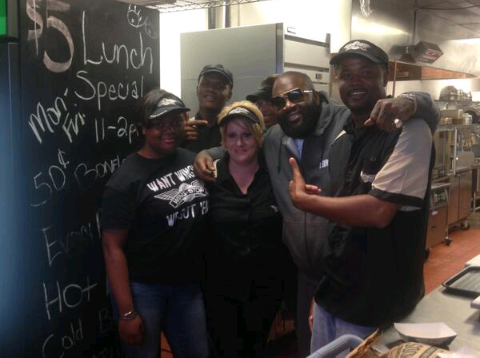 Rick Ross Shares Photo Dining Out at Yo Gottis New PRIVÉ