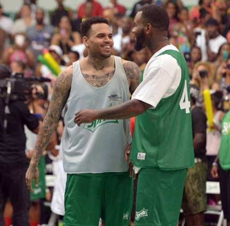 chris brown and the game