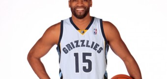 First Pic Of New Memphis Grizzlies Player Vince Carter In Beale Street Blue