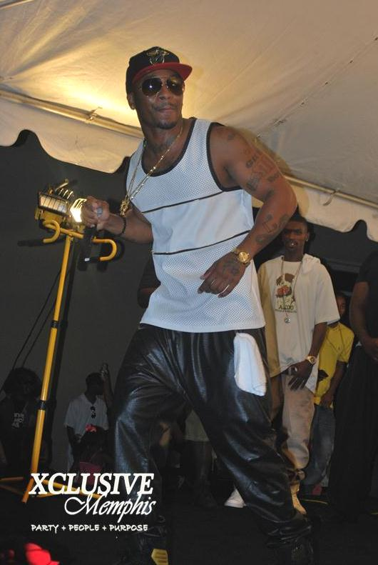 Pics Rapper Chingy Hits The Stage In Memphis Xclusive
