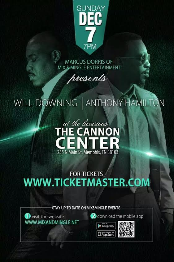 Anthony Hamilton & Will Downing