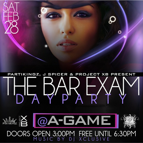 Bar Exam - Day Party