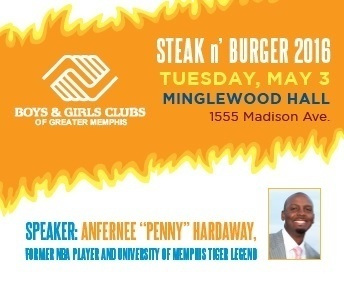 STEAK N' BURGER 2016 Feat. Penny Hardaway & Chris Vernon