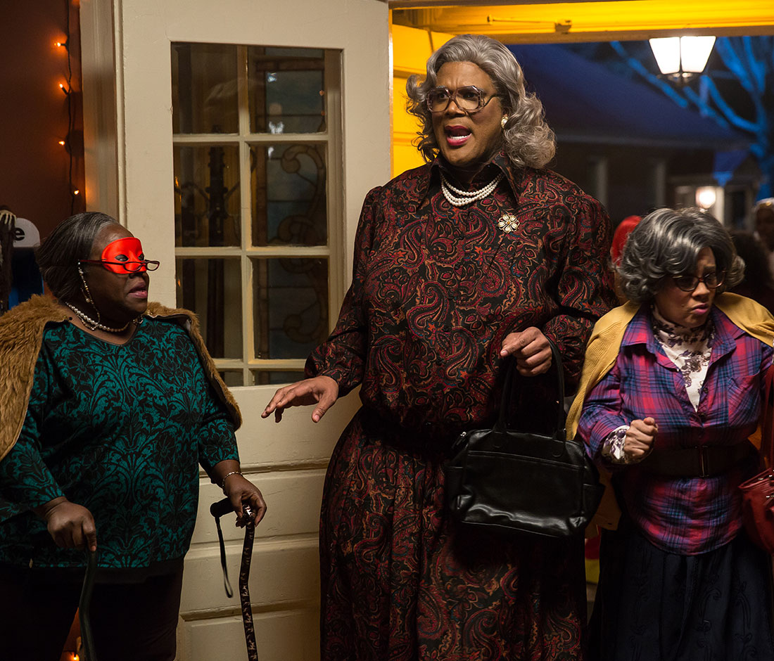 i watched the trailer and as expected madea is up to her old ways talking slick and quick to a group of trick or theaters